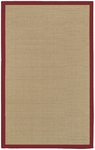 Chandra Bay BAYRED Red Area Rug
