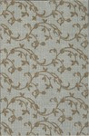BRSVN 50912 Brussels Vine Ice/Cocoa - Wilton Essence Collection - Nourison offers an extraordinary selection of premium broadloom, roll runners, and custom rugs.