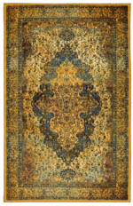 Karastan Antiquity ZS002 A439 Shiraz Blue Area Rug