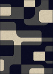 Radici USA Bella 1813 Navy/Pearl Closeout Area Rug