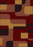 Radici USA Bella 1813 Red/Brown Closeout Area Rug