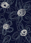 Radici USA Bella 1816 Navy/Pearl Closeout Area Rug