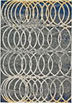 Feizy Brixton 3608F Smoke Closeout Area Rug