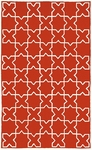 Trans-Ocean Liora Manne Capri 1606/24 Moroccan Tile Red Closeout Area Rug