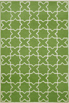 Trans-Ocean Liora Manne Capri 1606/06 Moroccan Tile Green Closeout Area Rug