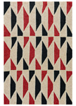 Jaipur Catalina CAT34 Valencia Mojave Desert & Rio Red Closeout Area Rug
