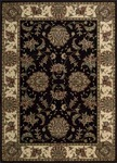Nourison Cambridge CG02 BLK Black Closeout Area Rug