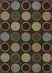 Nourison Cambridge CG06 CHO Chocolate Closeout Area Rug