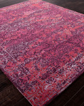 Jaipur Jenny Jones Global CG06 Chambord Italian Plum/Deep Claret Closeout Area Rug - Spring 2014