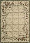 Nourison Cambridge CG07 IVGRN Ivory/Green Closeout Area Rug