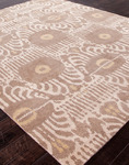 Jaipur Jenny Jones Global CG12 Agra Mink/Mink Closeout Area Rug - Fall 2013