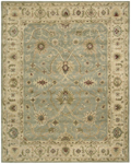 Nourison Charleston CH03 LTB Light Blue Closeout Area Rug