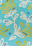Surya Chic CHI-1000 Aqua/Sage Closeout Area Rug - Fall 2012
