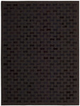 Nourison Chicago CHI01 BLK Black Area Rug