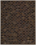 Nourison Chicago CHI01 CHO Chocolate Area Rug
