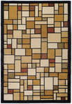 Surya Charleston CHN-1535 Gold/Black Closeout Area Rug - Spring 2011
