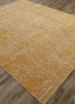 Jaipur Chaos Theory CKV18 Tir Tidal Foam & Bright Gold Closeout Area Rug