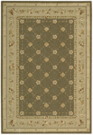 Nourison Grand Chalet CL03 GRE Green Closeout Area Rug