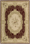 Nourison Grand Chalet CL06 BUR Burgundy Closeout Area Rug