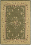 Nourison Grand Chalet CL08 OLI Olive Closeout Area Rug