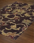 Dalyn Columbia CM31 Chocolate Closeout Area Rug - Winter 2016