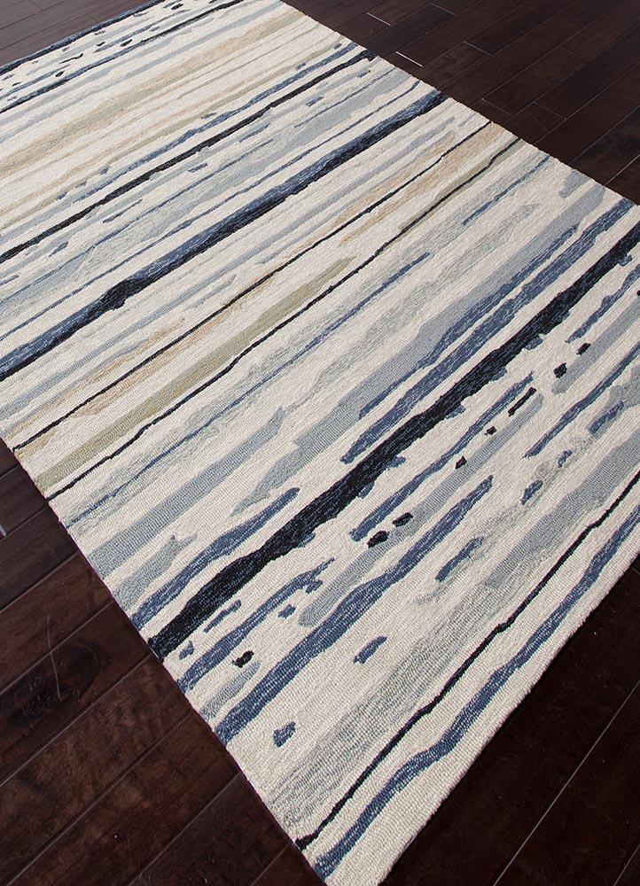 Jaipur Colours Indoor Outdoor Co08 Sketchy Lines Silver