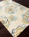 Jaipur Colours Indoor-Outdoor CO09 Rosie Antique White/Antique White Closeout Area Rug - Spring 2014