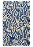 Jaipur Coastal Lagoon COL57 Maho Cloud Cream & Dress Blues Closeout Area Rug