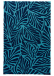 Jaipur Coastal Lagoon COL61 Palm Breezy Pagoda Blue & Dress Blues Closeout Area Rug