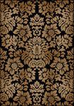 Radici USA Como 1747 Black Closeout Area Rug