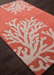 Jaipur Coastal Seaside COS02 Bough Apricot Brandy & Doeskin Area Rug