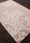 Jaipur Coastal Seaside COS04 Bough Doeskin & Silver Birch Area Rug