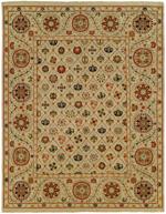 Designer Series 17016 Kiera Linen Spice Rug