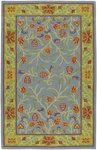 Surya Caribbean CST-1428 Bright Blue Closeout Area Rug