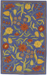 Surya Caribbean CST-1447 Bright Blue Closeout Area Rug