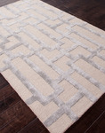 Jaipur City CT09 Dallas Plaza Taupe & Drizzle Area Rug
