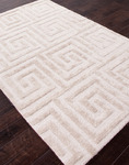 Jaipur City CT17 Keyed Up Oatmeal & Moonbeam Closeout Area Rug