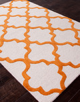 Jaipur City CT22 Miami Orange Ochre & Turtledove Closeout Area Rug