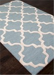 Jaipur City CT28 Miami Blue Shadow & Bright White Closeout Area Rug