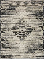 Karastan Zephyr 92120 90166 Cella Black Area Rug