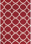 Feizy Cetara 4107F Red/White Closeout Area Rug