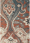 Feizy Coronado 0522F Orange/Blue Closeout Area Rug