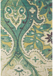 Feizy Coronado 0522F Teal/Green Closeout Area Rug