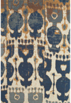 Feizy Coronado 0525F Navy/Copper Closeout Area Rug