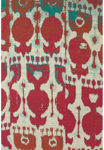 Feizy Coronado 0525F Red/Teal Closeout Area Rug