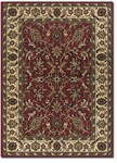 Couristan Anatolia 2056/0010 Floral Ispaghan Red-Cream Closeout Area Rug - Spring 2017