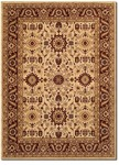 Couristan Anatolia 2067/0009 Antique Kashan Cream-Red Closeout Area Rug - Spring 2017