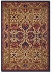 Couristan Anatolia 2715/0705 Royal Plume Navy-Port Wine Closeout Area Rug - Spring 2017