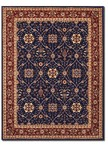 Couristan Anatolia 2869/0008 All Over Vase Navy-Red Closeout Area Rug - Spring 2017