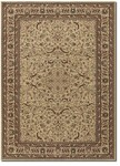 Couristan Anatolia 3868/0001 Medallion Ispaghan Cream Closeout Area Rug - Spring 2017